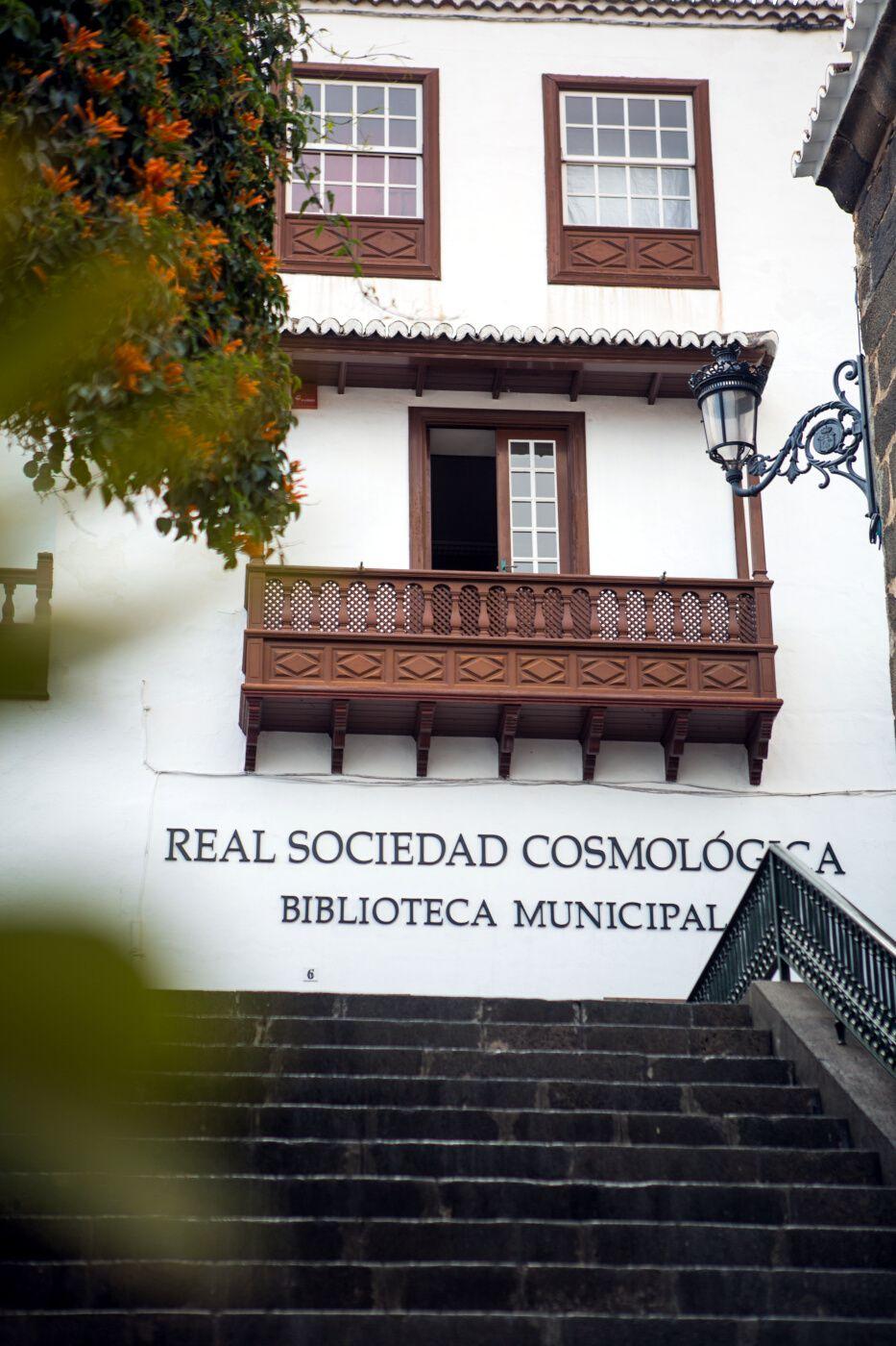 Real Sociedad Cosmológica, Santa Cruz de La Palma