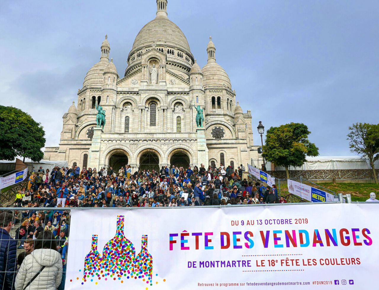 Fiesta de la vendimia en Montmartre