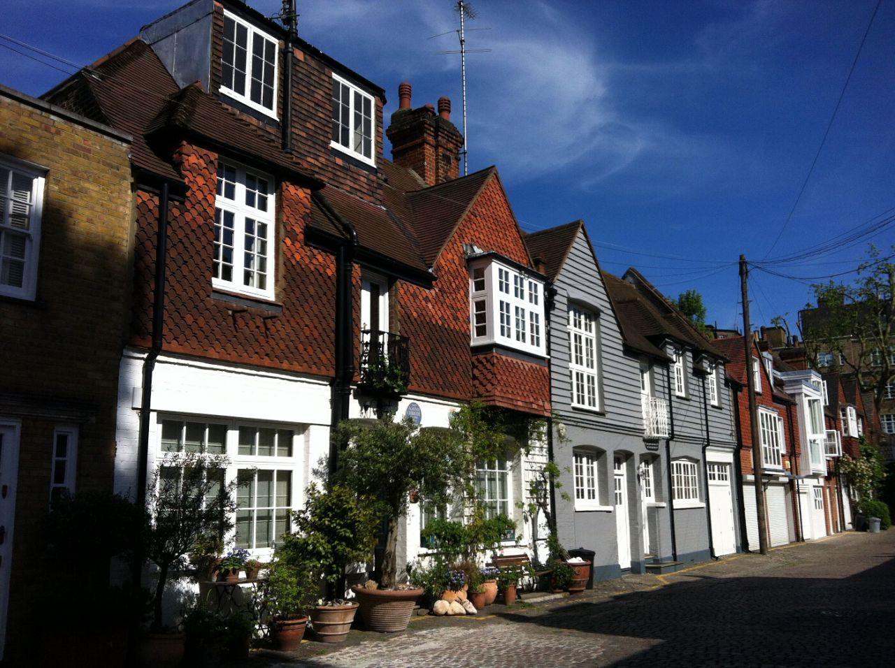 Casa de Agatha Christie en Londres