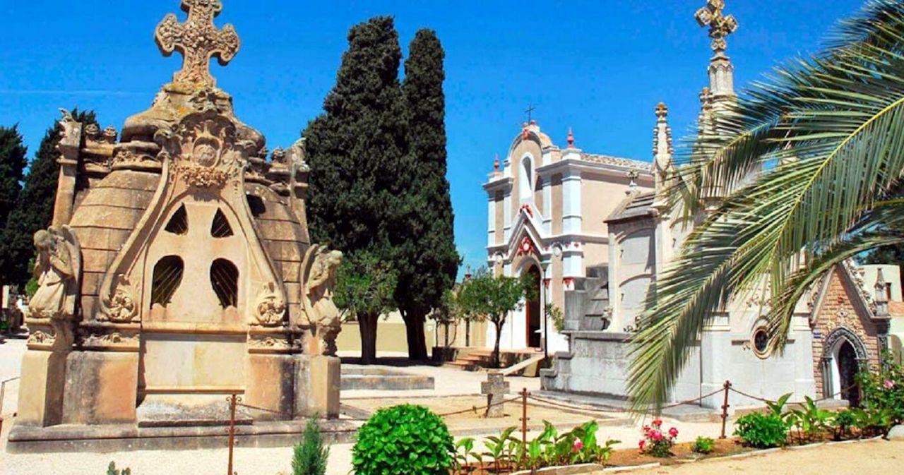 Cementerio de Lloret de Mar en Gerona