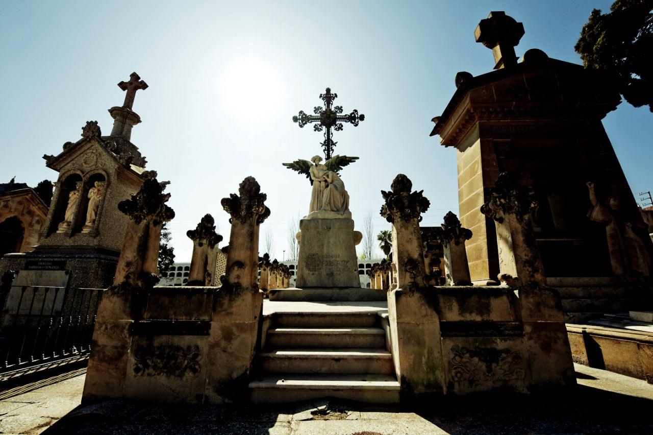 Cementerio Municipal de El Masnou en Barcelona