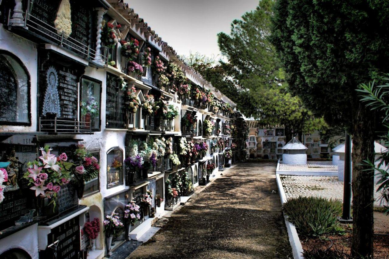 Cementerio de Monturque en Córdoba
