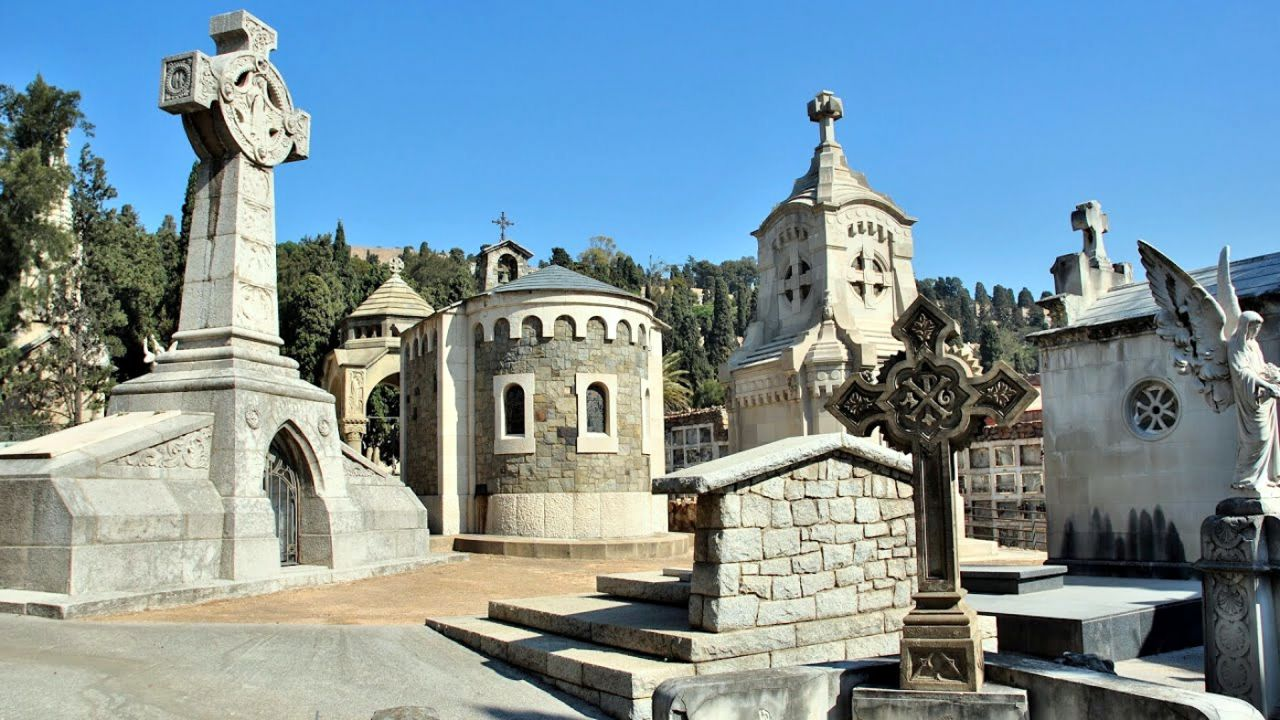 Cementerio de Montjuïc en Barcelona