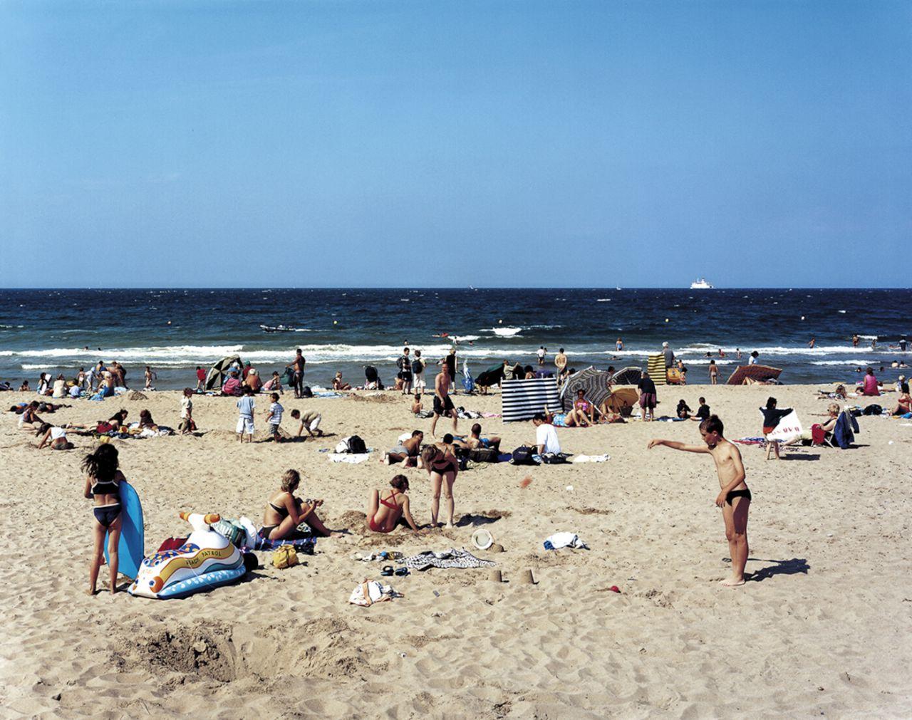 Playa. Lugar donde se produjo el desembarco de Normandía