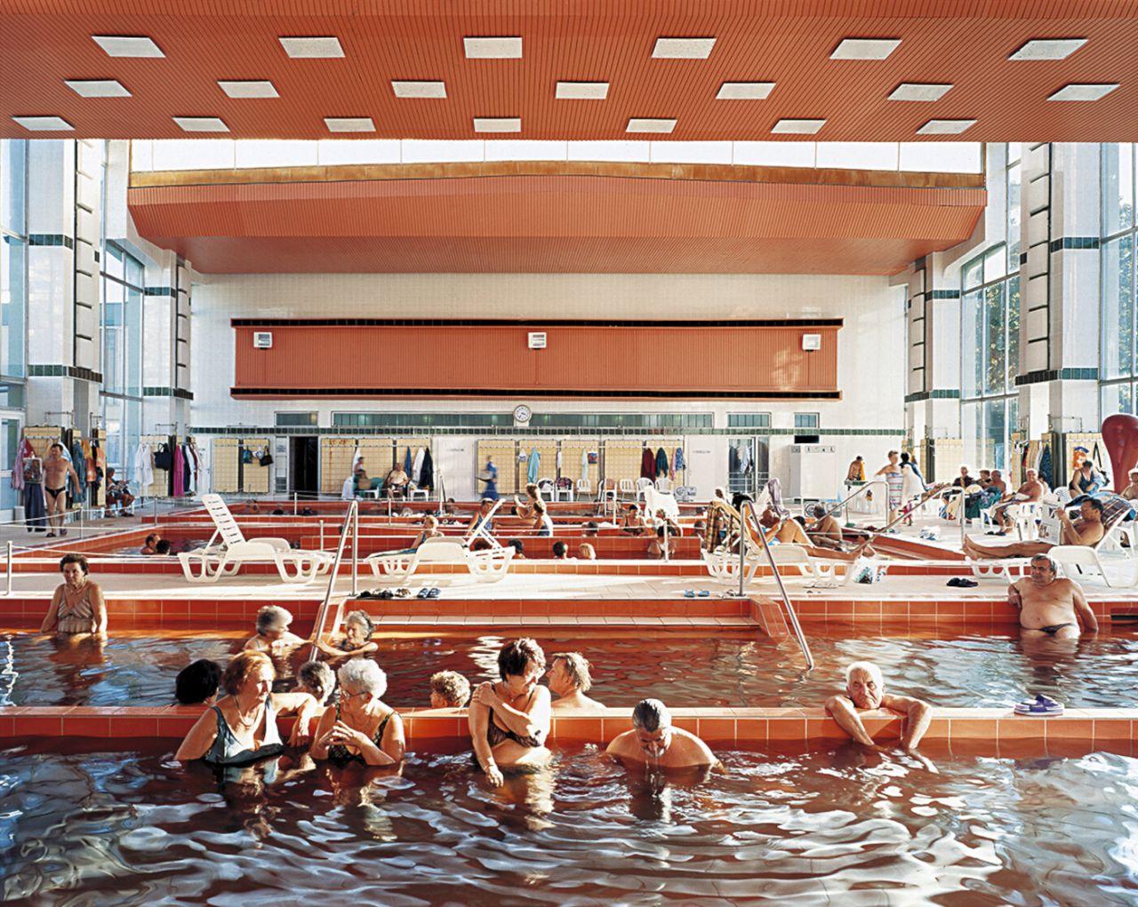 Baño de barro, Hajdúszoboszló, Hungría, 2004