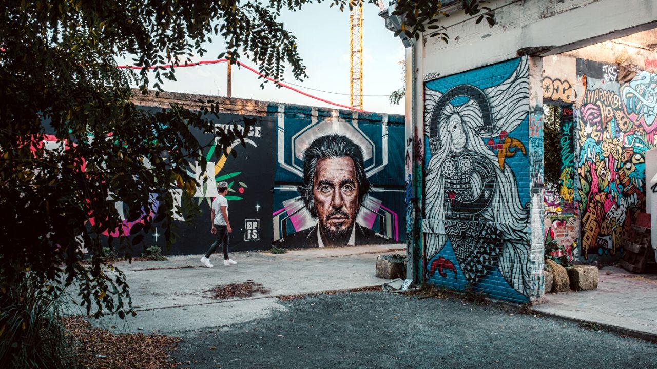 Street art en Darwin