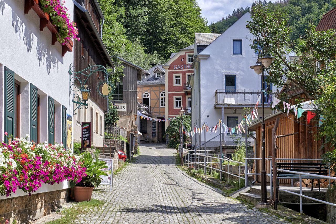 Casco antiguo de Bad Schandau