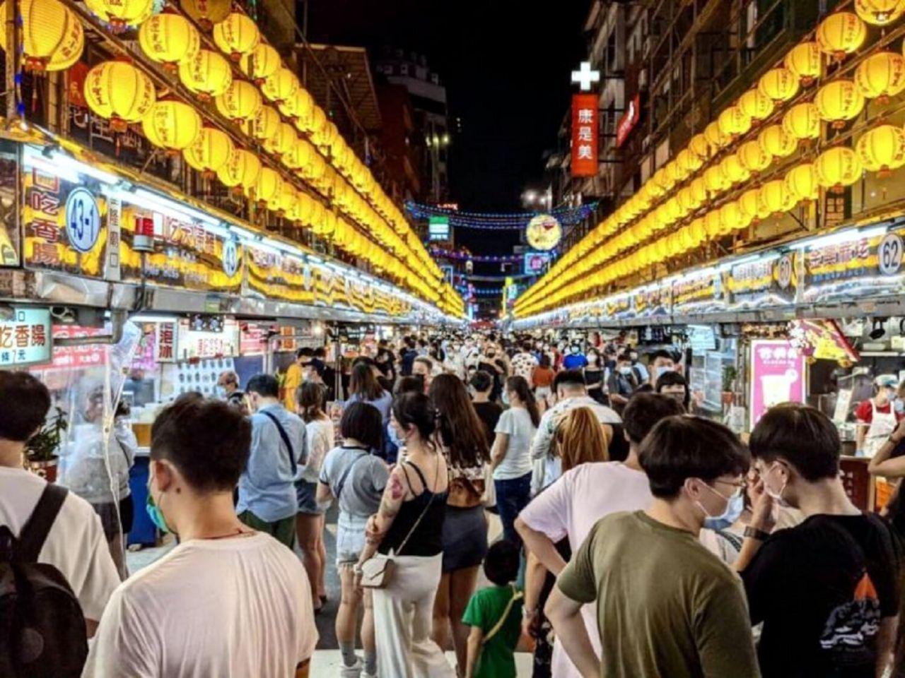 Keelung Miaokou Night Market- Keelung, Taiwán
