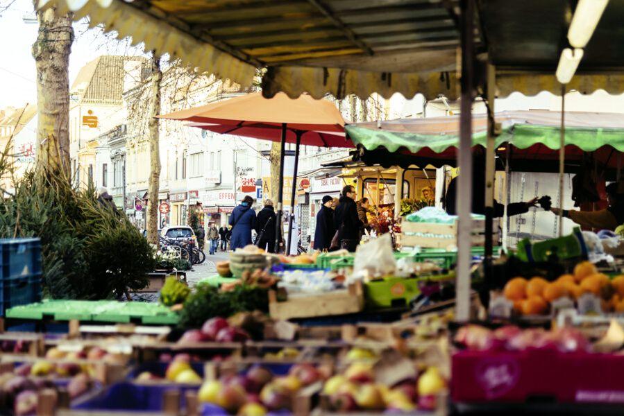 Barrio das Viertel.Mercado eco