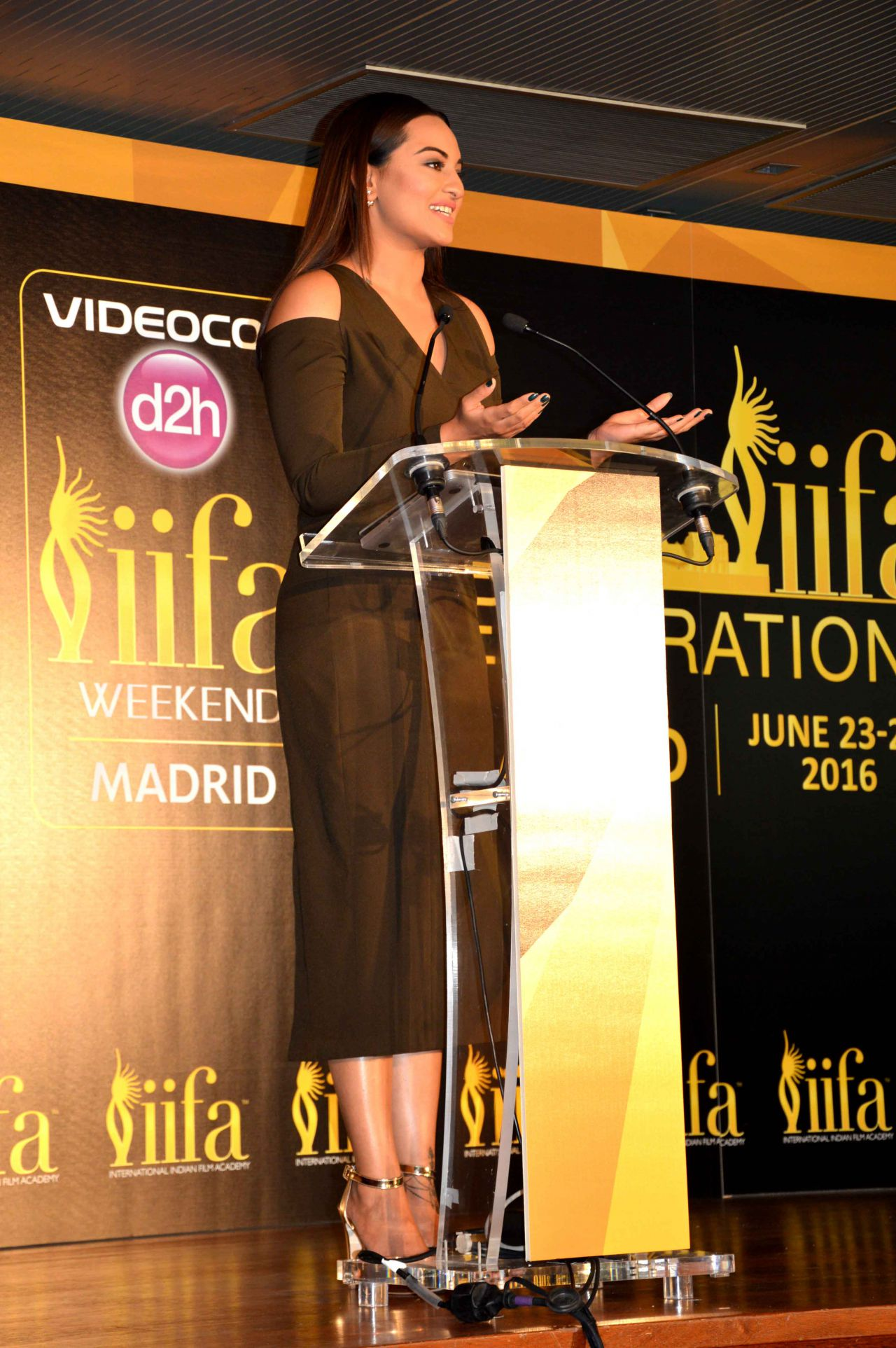 Presentación de la 17ª edición del IIFA Weekend and Awards (Oscars de Bollywood) que tendrá lugar en Madrid, del 24 al 26 de Junio