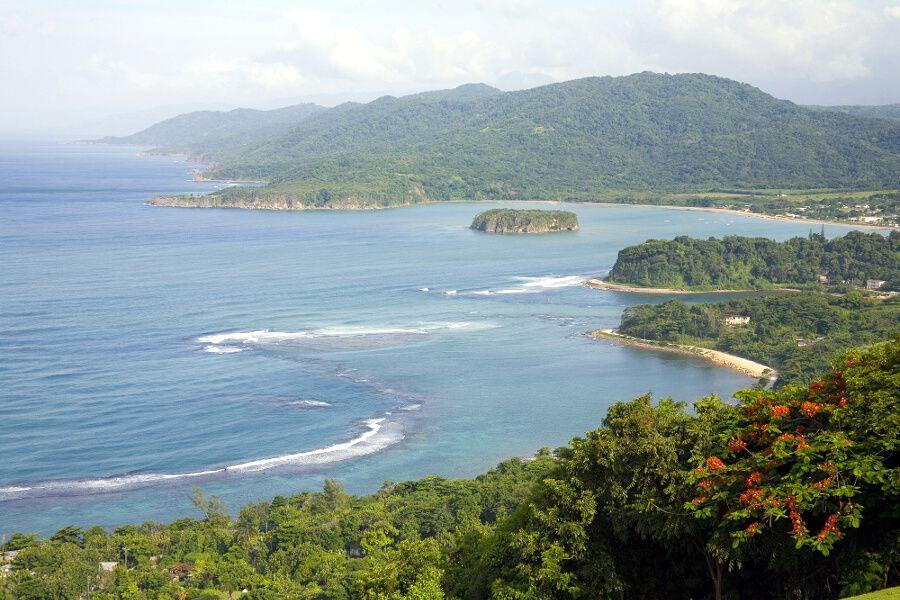 Impresionantes vistas desde Firefly Ocho Rio