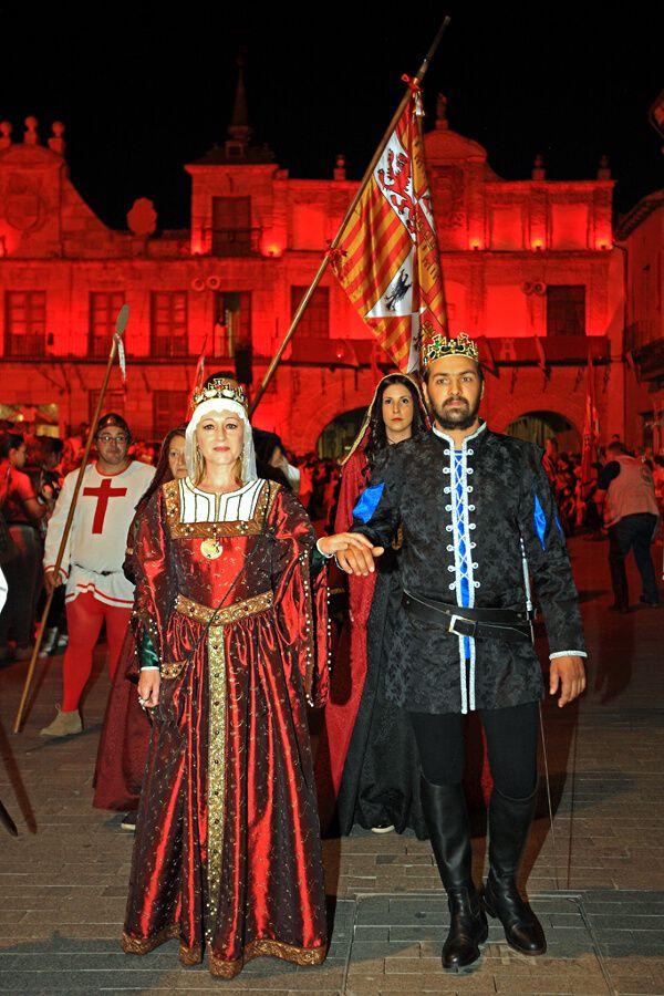 Recreacion Historica. Desfile Inaugural La Corte de los Reyes Catolicos