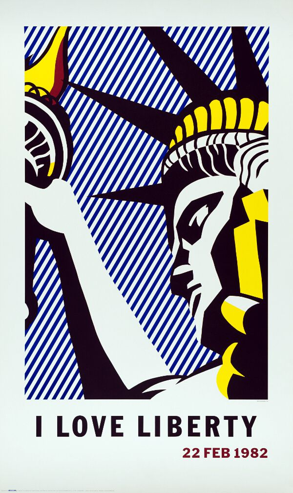 Love Liberty Poster,