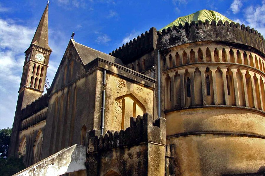 Stone Town. Catedral
