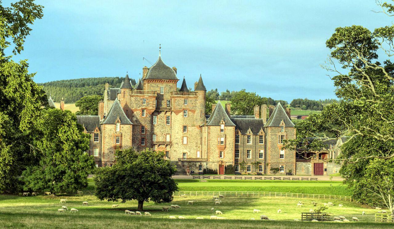 Castillo Escocés - Edimburgo, Escocia