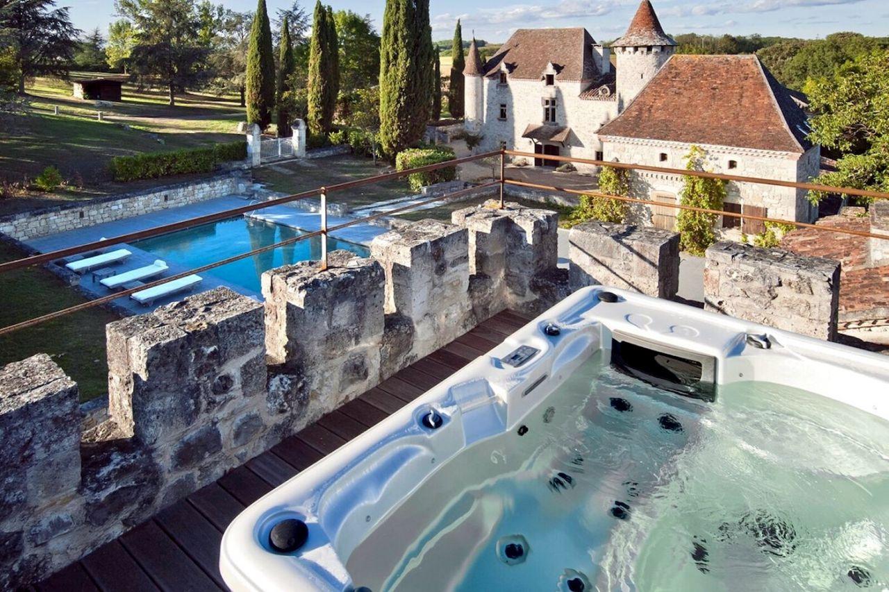 Château Martinus - Saint-Caprais-de-Lerm, Francia