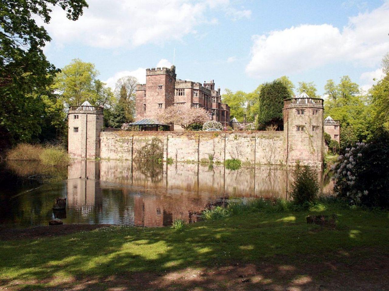 Castillo de Caverswall - Staffordshire, Inglaterra