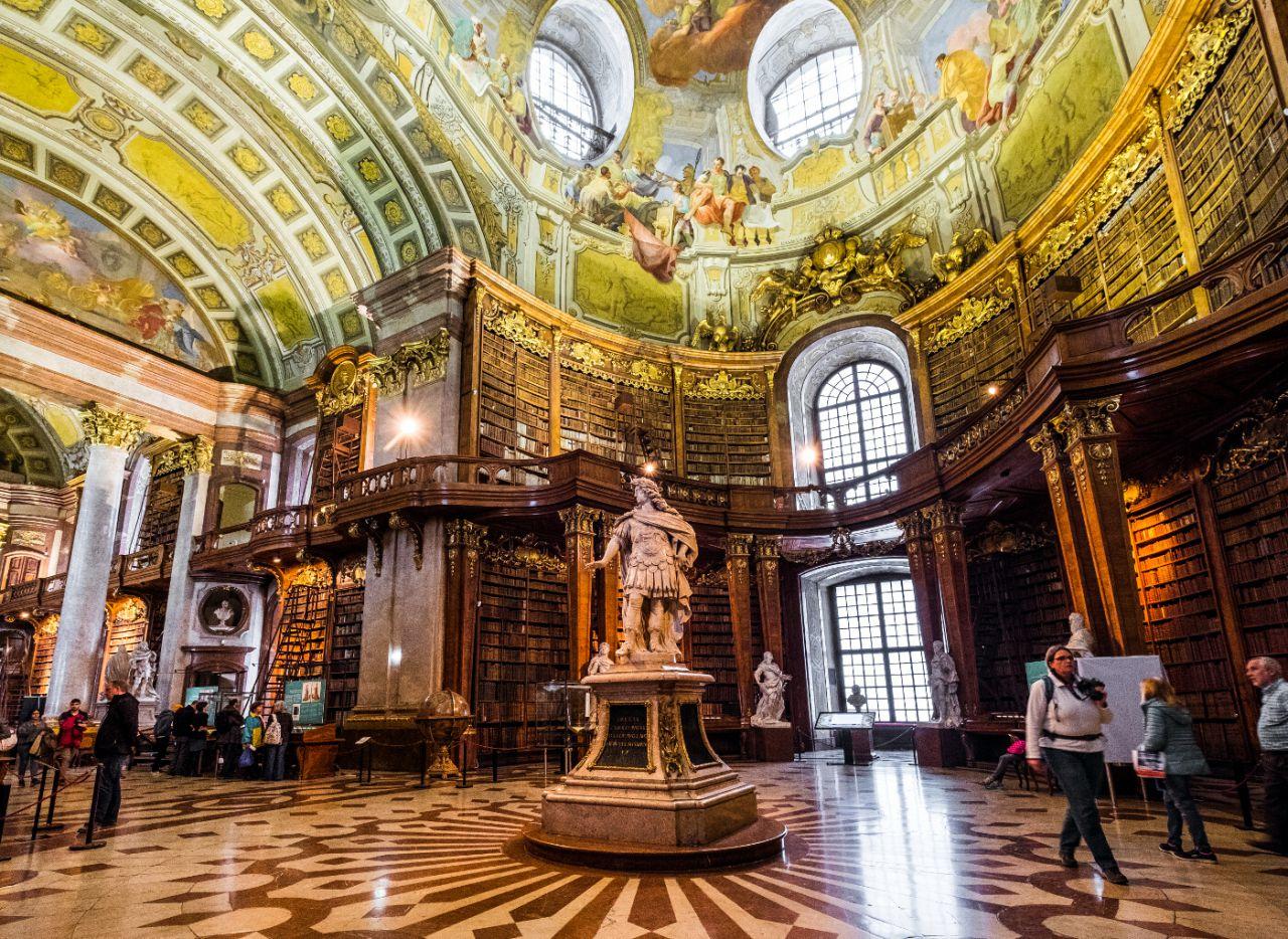 Biblioteca Nacional de Austria - Viena