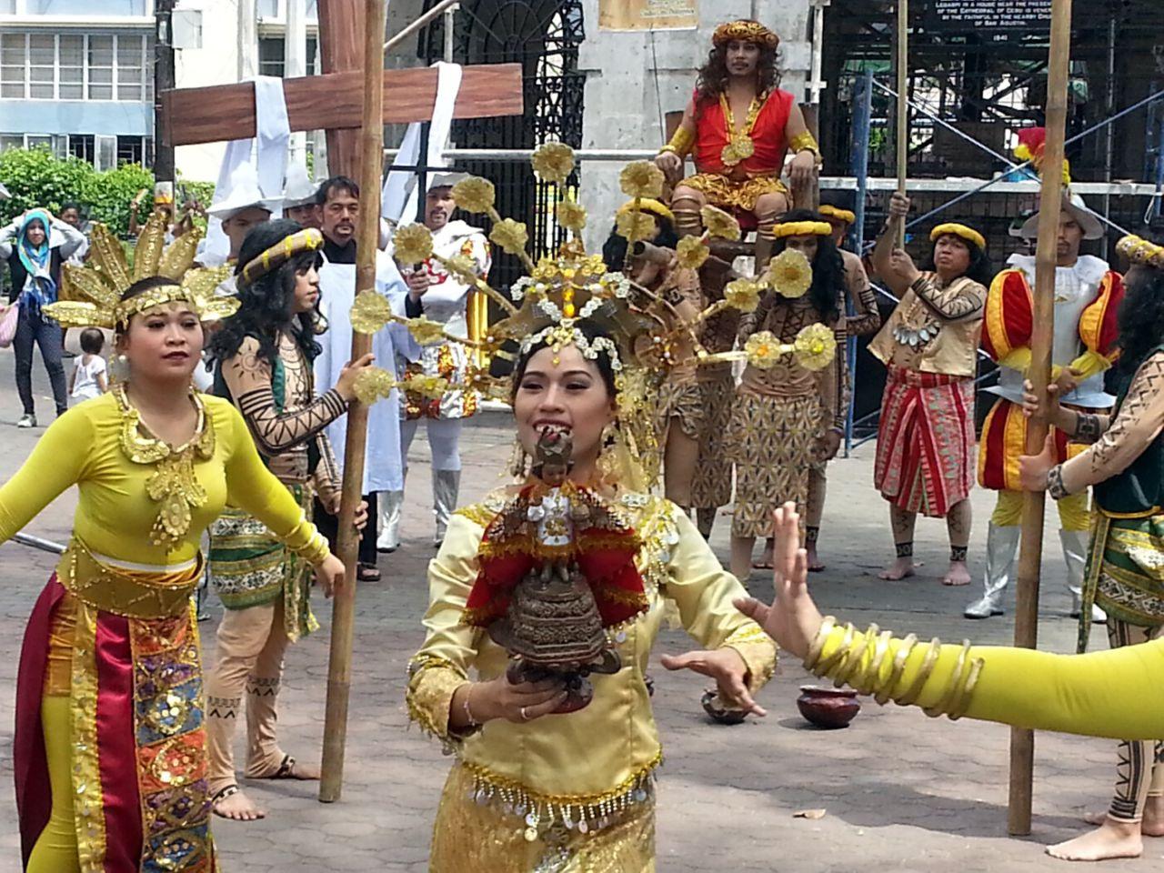 Ceremonial del Santo Niño en Cebú