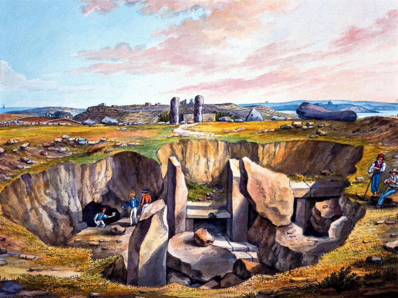 El Círculo de Piedra de Ha?ar Qim