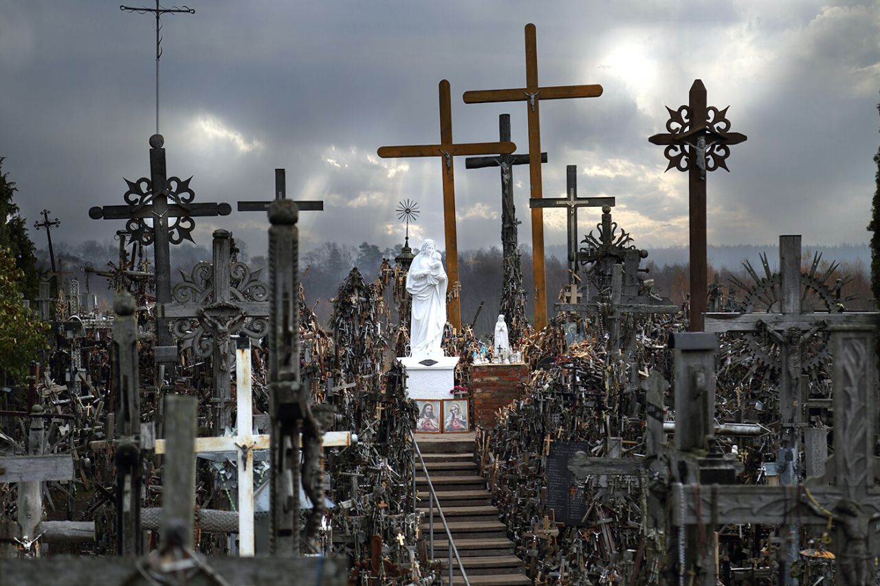 Colina de las Cruces. Šiauliai - Lituania