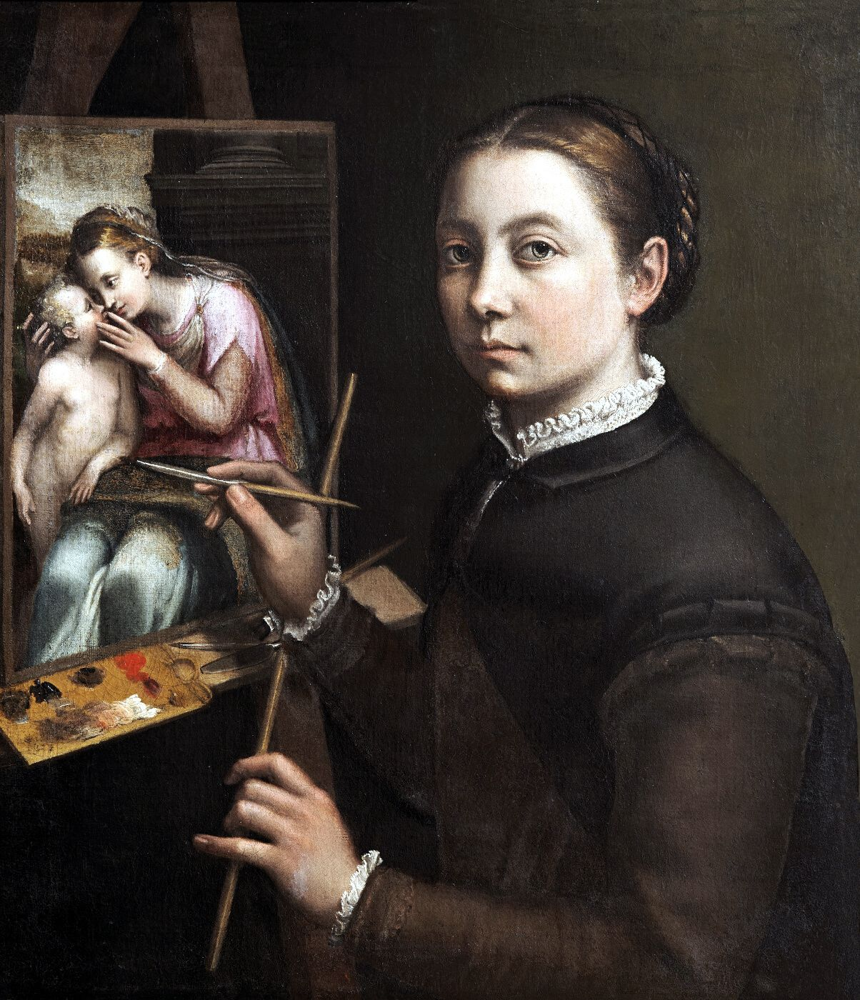 Sofonisba Anguissola. Autoretrato