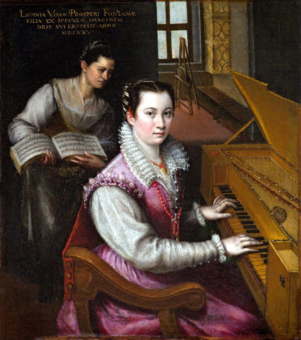 Lavinia Fontana. Autoretrato