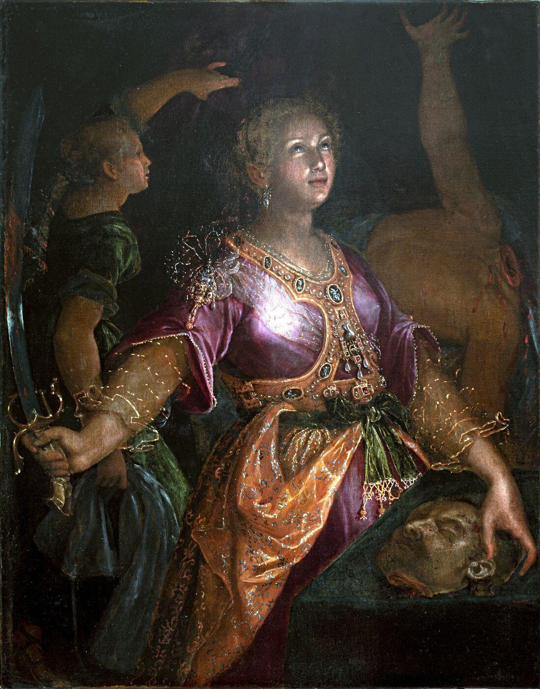 Judith y Holofernes. Lavinia Fontana