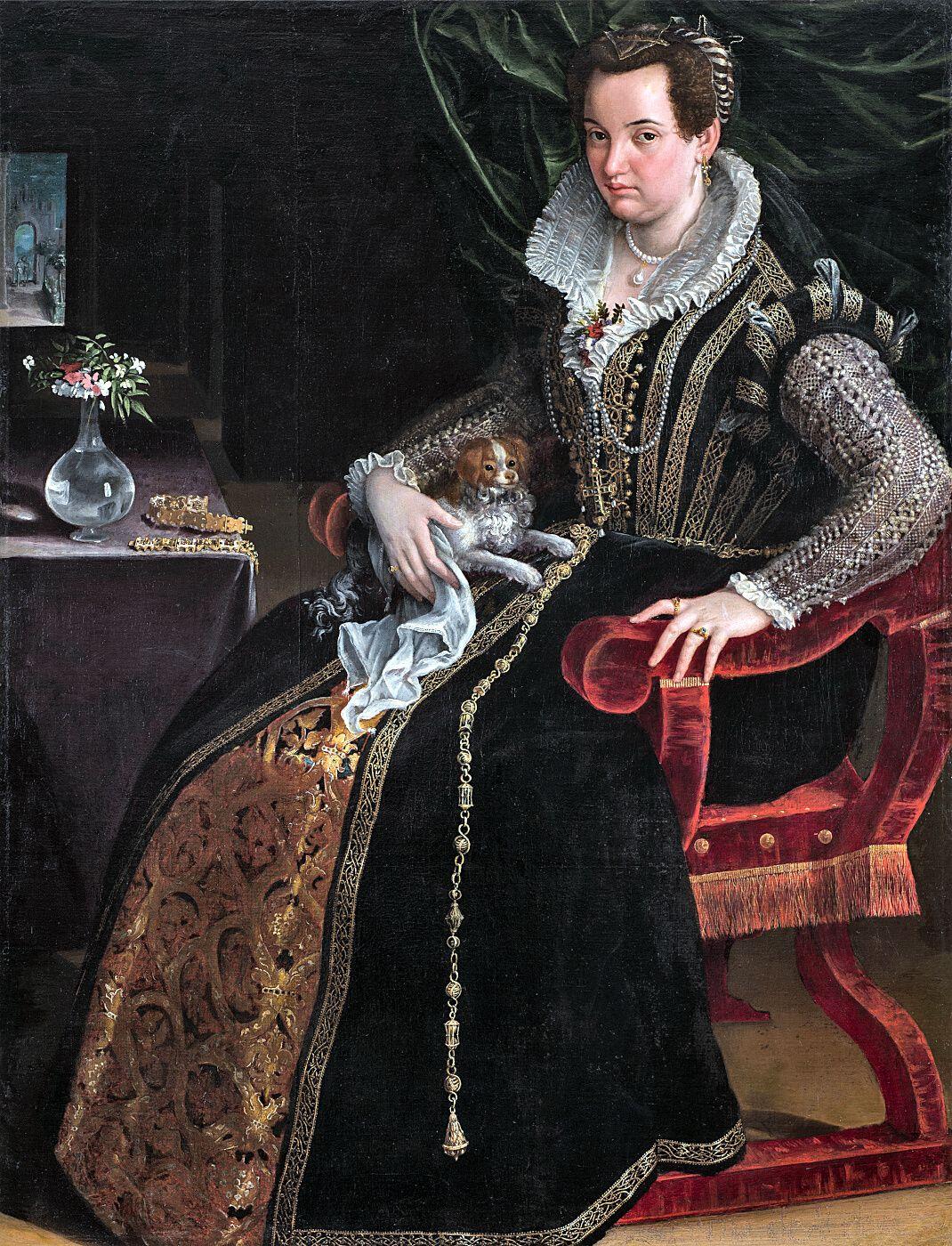 Costanza Alidosi. Lavinia Fontana