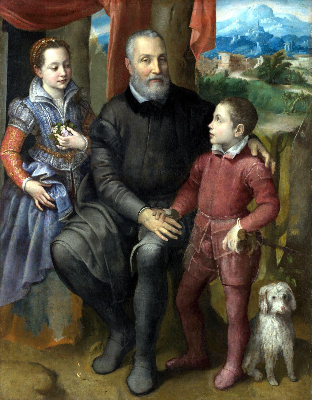 Retrato de familia. Sofonisba Anguissola