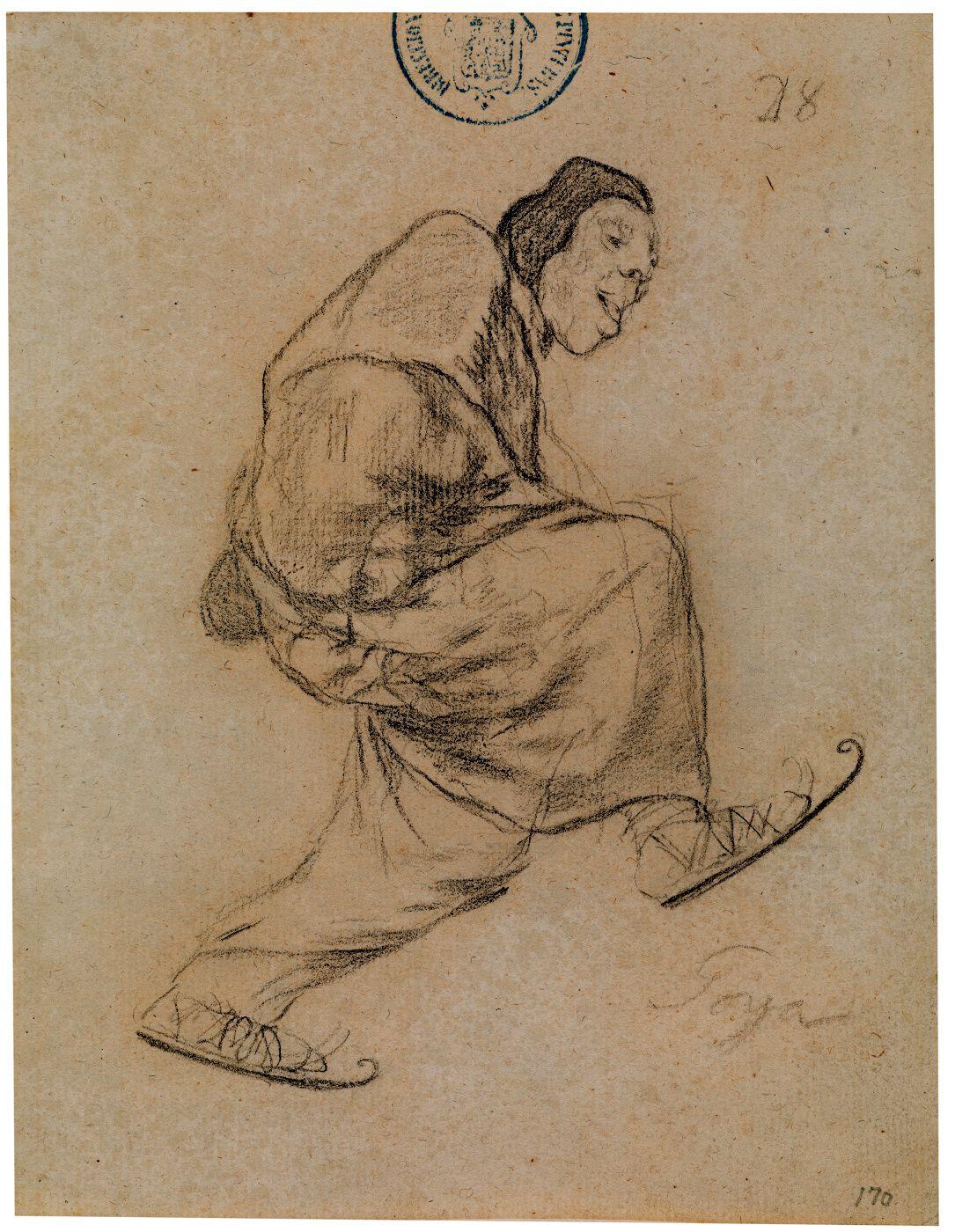 El lego de los patines Cuaderno de Burdeos II o cuaderno H, 28