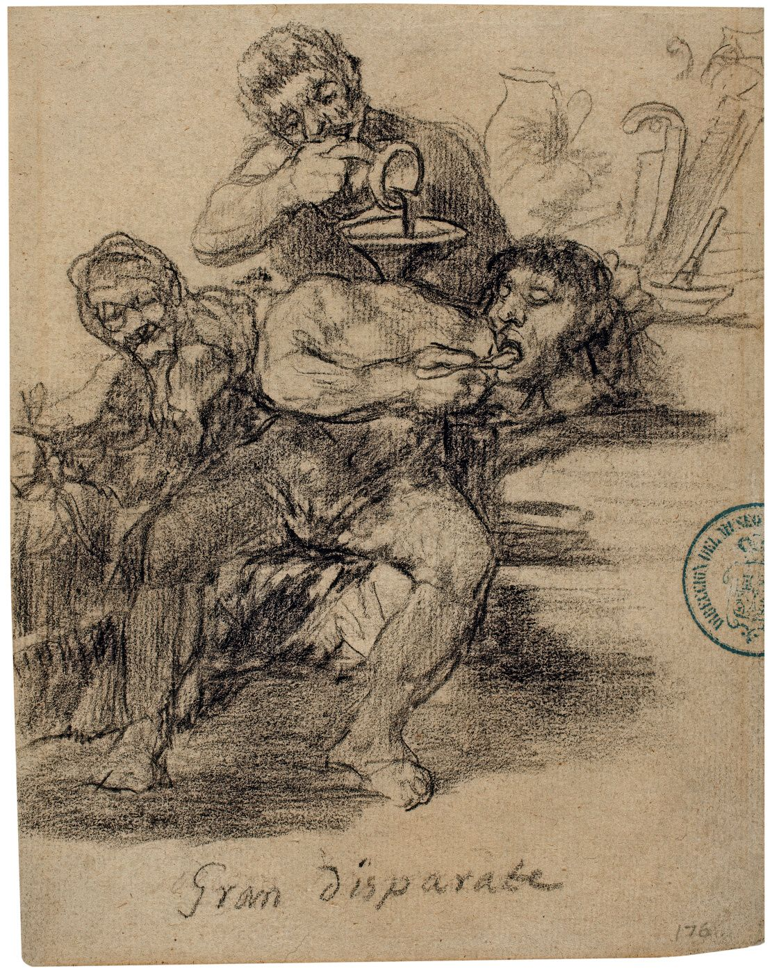 Gran Disparate Cuaderno de Burdeos I o cuaderno G, 9