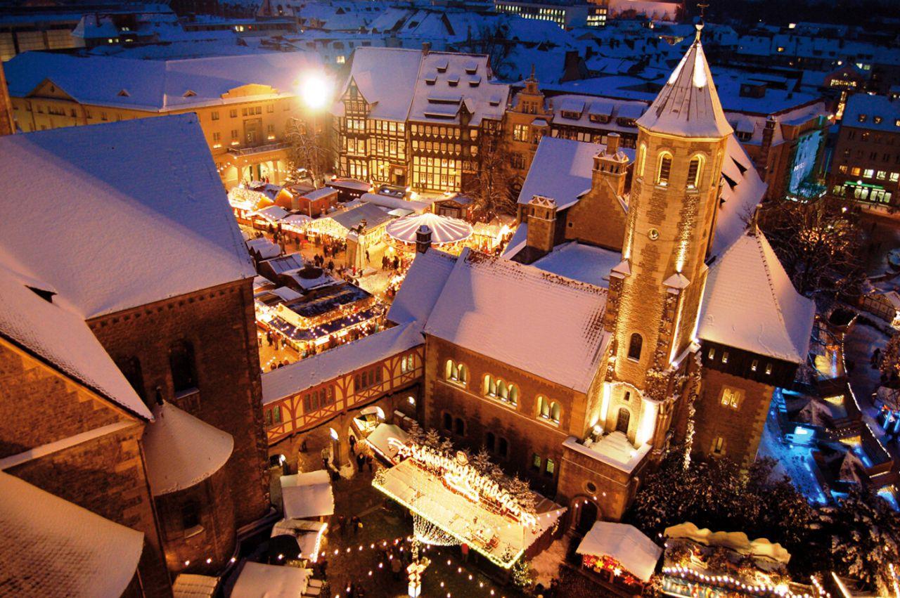 Braunschweig. Mercado de Navidad