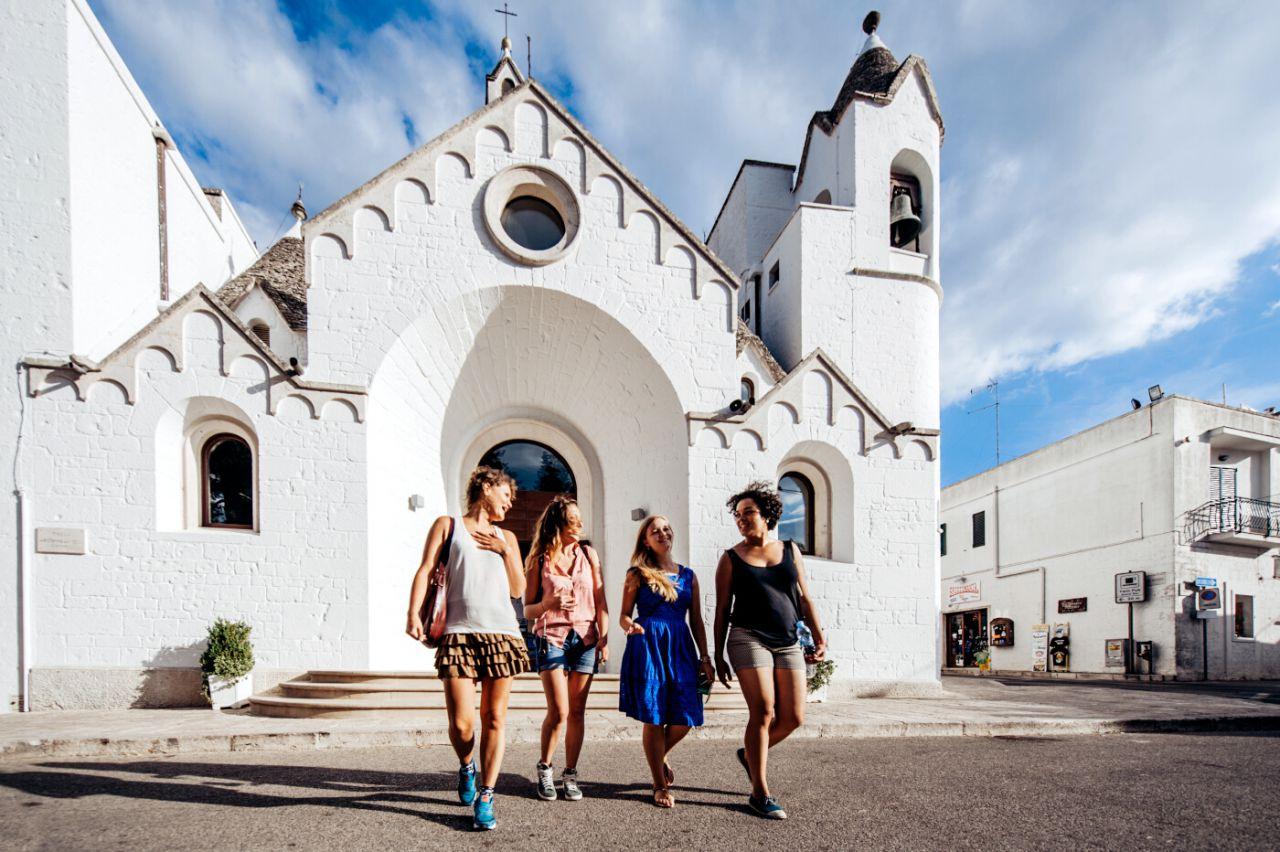 Alberobello. Iglesia de San Antonio