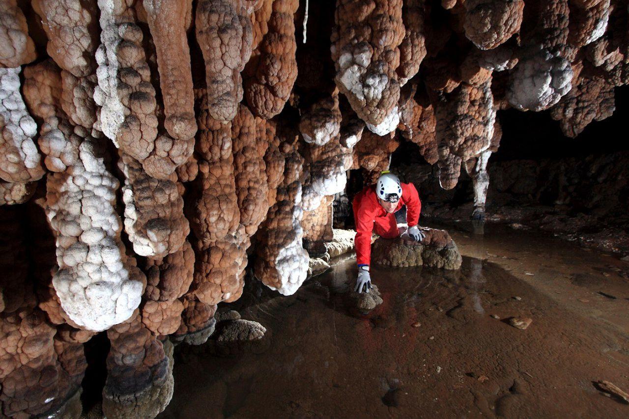 Río Subterráneo de la Cueva de Valporquero. León