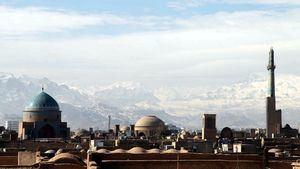 Vista de los Montes Zagros