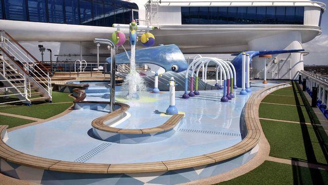 Nueva zona interactiva para toda la familia en la cubierta principal del Caribbean Princess