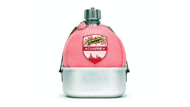Campink, la cantimplora rosa de Schweppes