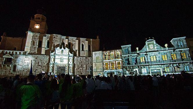 El Festival Mapping Me de Medina del Campo une patrimonio con las nuevas tecnologías