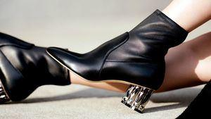 Salvatore Ferragamo presenta su nueva colección de zapatos, Refracted
