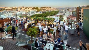 La terraza del Tivoli Avenida Liberdade reabre con una nueva decoración