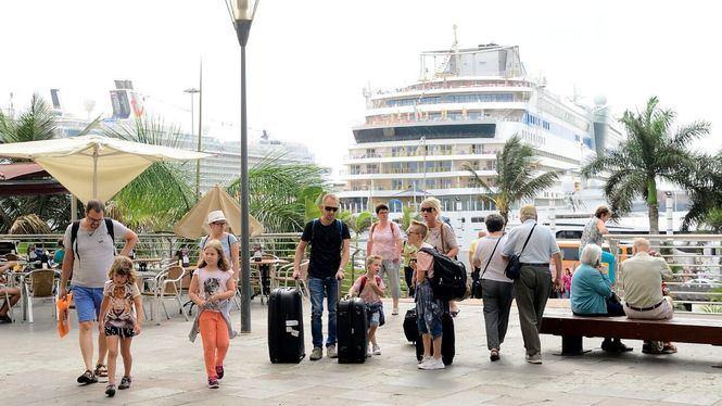 Las Palmas de Gran Canaria, primer destino de invierno en España para los cruceristas