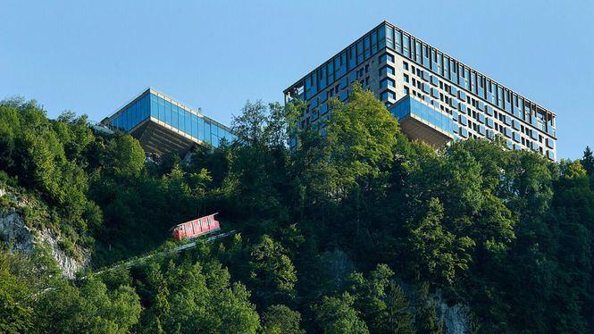 Bürgenstock Resort, un hotel inteligente en el Lago de los Cuatro Cantones de Suiza