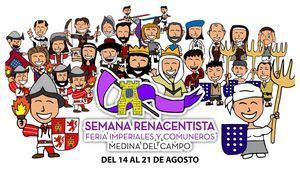 Da comienzo la Semana Renacentista y Feria Imperiales y Comuneros de Medina del Campo
