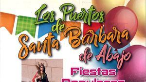 Los Puertos de Santa Bárbara de Abajo celebra sus fiestas patronales