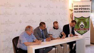 El Hotel Miguel Angel patrocinador oficial de la Academia de Futbol Alcobendas