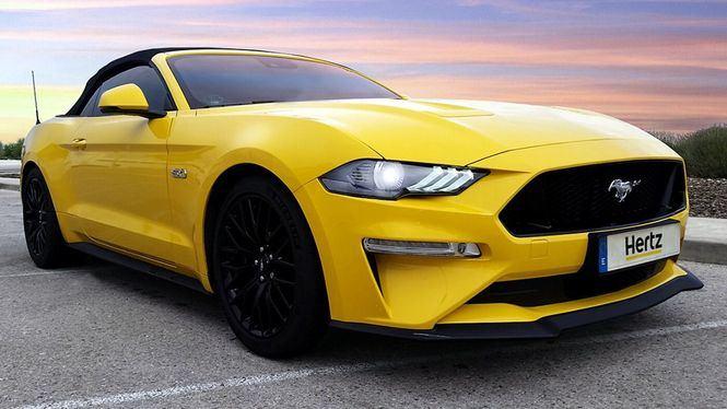 Hertz incorpora a su flota Premium en España el Ford Mustang GT convertible