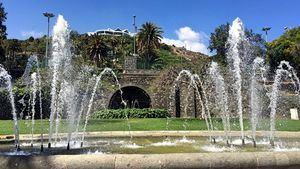 Fuentes. Parque Doramas
