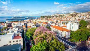 Funchal, la capital de Madeira es el mayor centro urbano de la isla