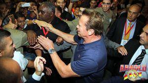 Conan y el secreto del acero, en Arnold Classic Europe